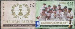 AUS SG4122-3 The Urn Returns: 2013-4 Cricket Ashes series set of 2